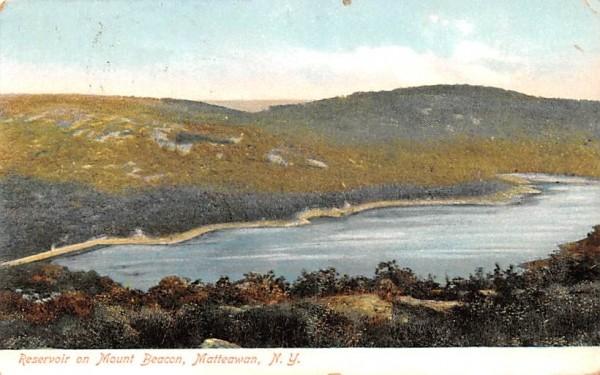 Reservoir on Mount Beacon Matteawan, New York Postcard