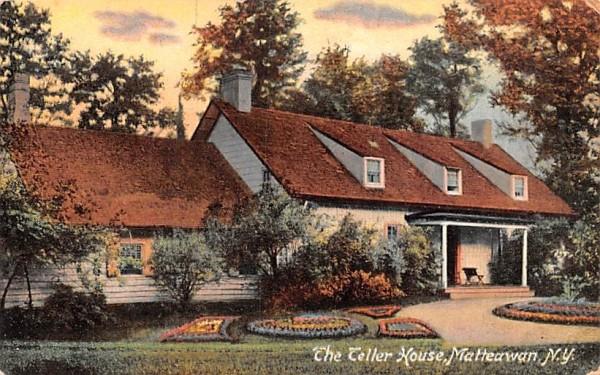 The Teller House Matteawan, New York Postcard