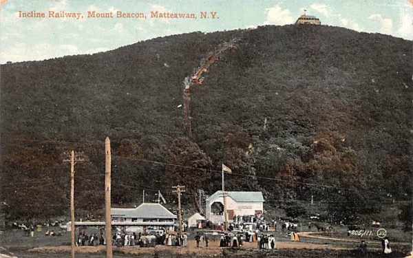 Incline Railway Matteawan, New York Postcard