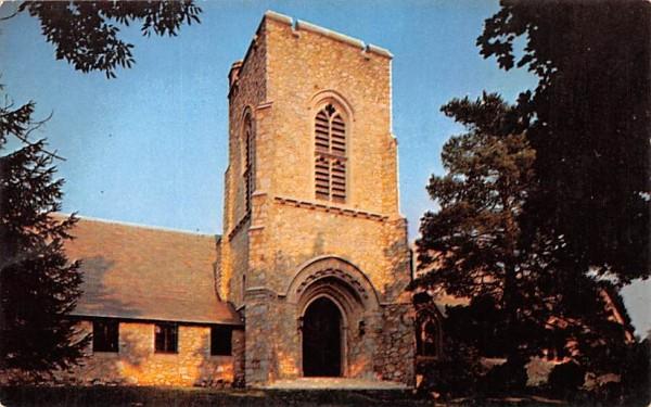 Lyall Memorial Federated Church Millbrook, New York Postcard