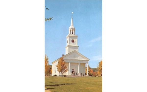 Flagler Memorial Chapel Millbrook, New York Postcard