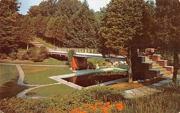 The Tribute Garden Millbrook, New York Postcard