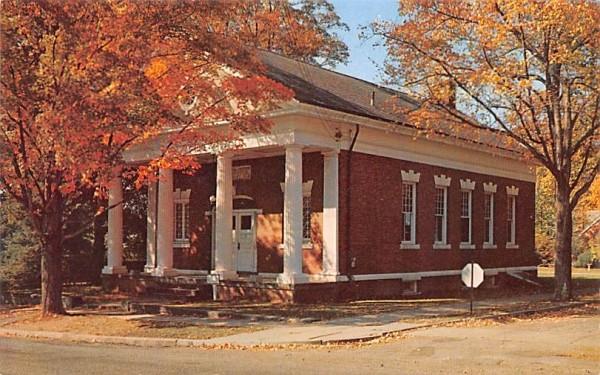 Hayes Memorial Library Millbrook, New York Postcard