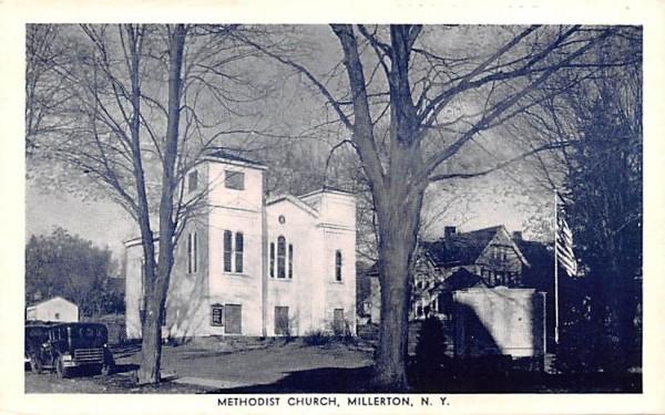 Methodist Church Millbrook, New York Postcard
