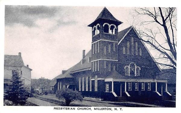 Presbyterian Church Millbrook, New York Postcard