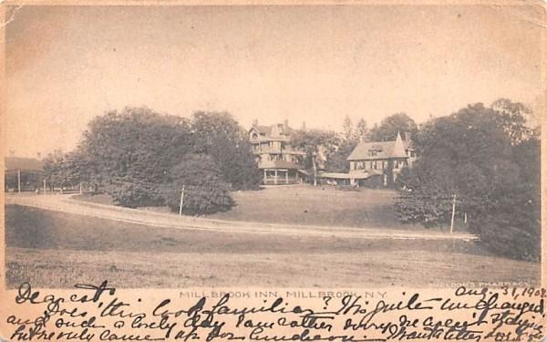 Millbrook Inn New York Postcard