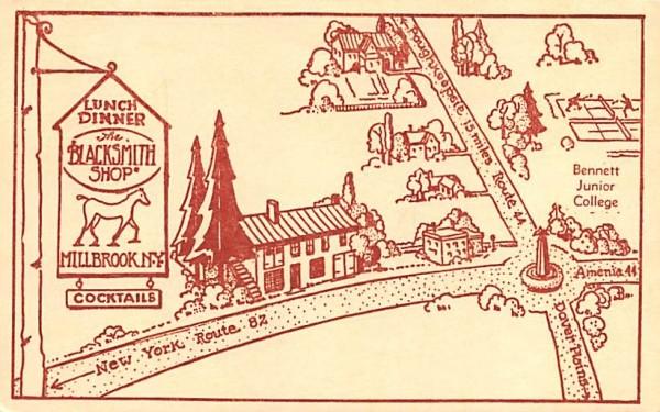 The Blacksmith Shop Millbrook, New York Postcard