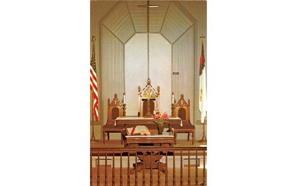 Wiccopee Community Church Millbrook, New York Postcard