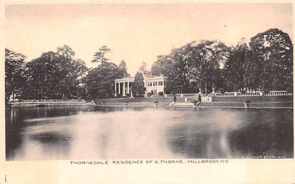 Thornedale Residence of O Thorne Millbrook, New York Postcard