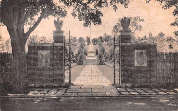 Tribute Garden Millbrook, New York Postcard