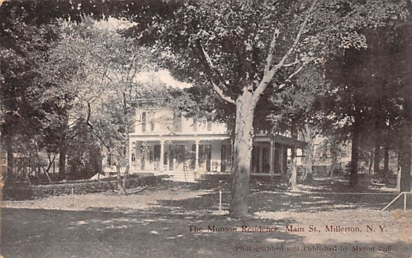 Munson Residence Millerton, New York Postcard