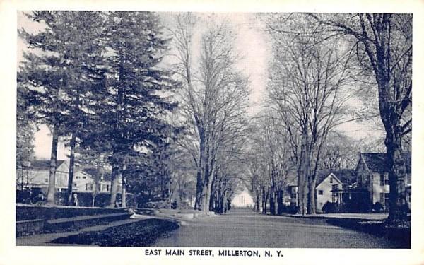 East Main Street Millerton, New York Postcard