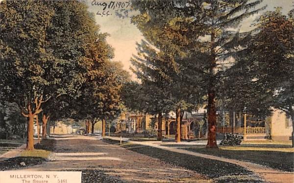 The Square Millerton, New York Postcard