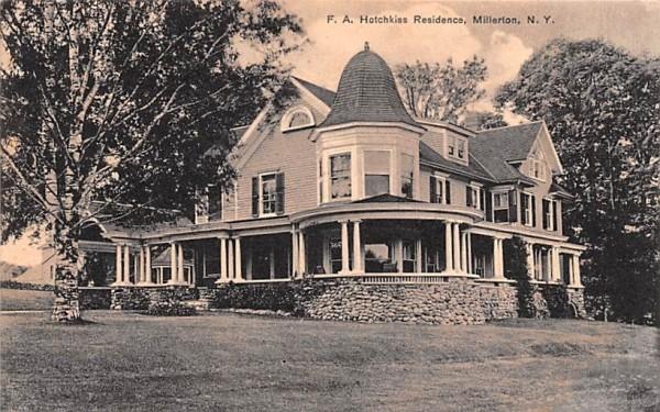 FA Hotchkiss Residence Millerton, New York Postcard