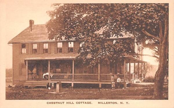 Chestnut Hill Cottage Millerton, New York Postcard