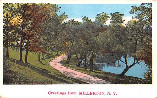 Greetings from Millerton, New York Postcard