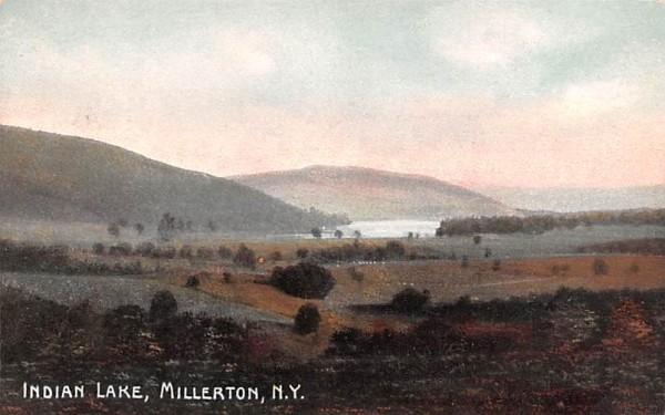 Indian Lake Millerton, New York Postcard