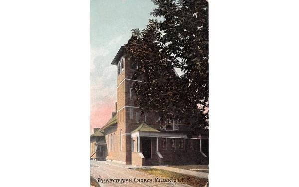 Presbyterian Church Millerton, New York Postcard