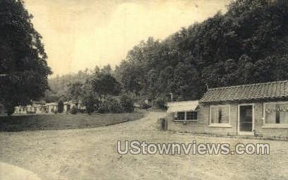 Hillcrest Tourist Camp - Montour Falls, New York NY Postcard