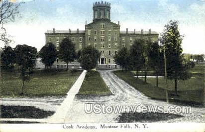 Cook Academy - Montour Falls, New York NY Postcard