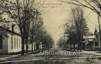 South Street - Montour Falls, New York NY Postcard