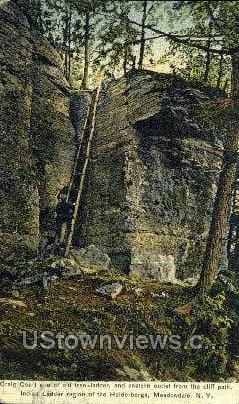 Indian Ladder - Meadowdale, New York NY Postcard