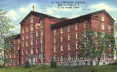 St. John's Atonement Seminary - Montour Falls, New York NY Postcard