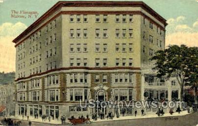 The Flanagan - Malone, New York NY Postcard