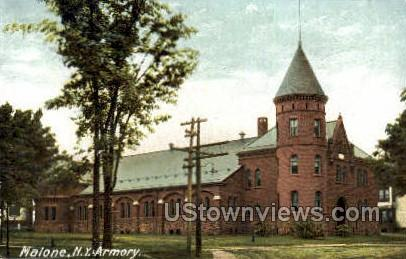 Armory - Malone, New York NY Postcard
