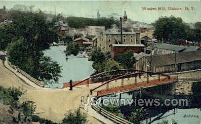 Woolen Mill - Malone, New York NY Postcard