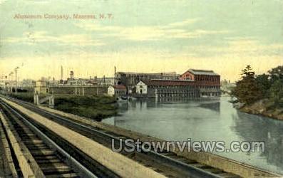 Aluminum Company - Massena, New York NY Postcard