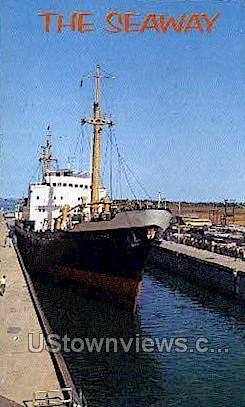 The Seaway - Massena, New York NY Postcard