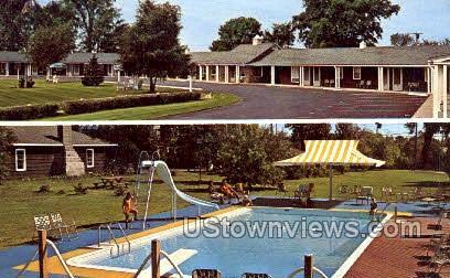 Village Motel - Massena, New York NY Postcard