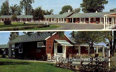 Stories Village Motel - Massena, New York NY Postcard