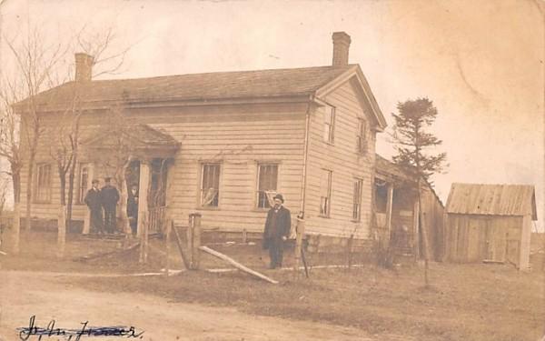 Olney Murder Middletown, New York Postcard
