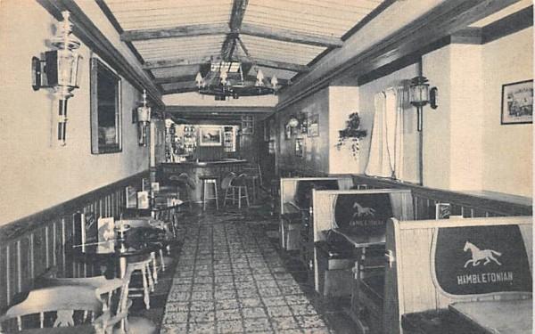 Hambletonian Room Middletown, New York Postcard