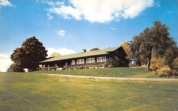 Club House at Orange County Country Club Middletown, New York Postcard