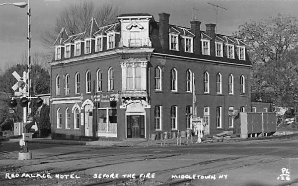 Red Palace Hotel Middletown, New York Postcard
