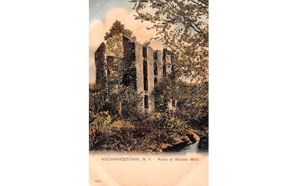 Ruins of Woolen Mills Middletown, New York Postcard