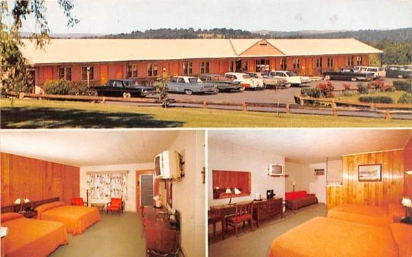 Chadwick Motel Middletown, New York Postcard
