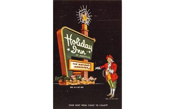 Holiday Inn Middletown, New York Postcard