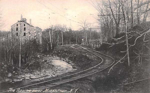 Ravine Middletown, New York Postcard