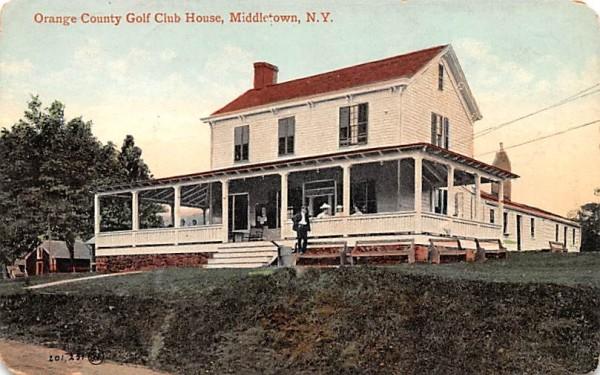 Orange County Golf Club Middletown, New York Postcard