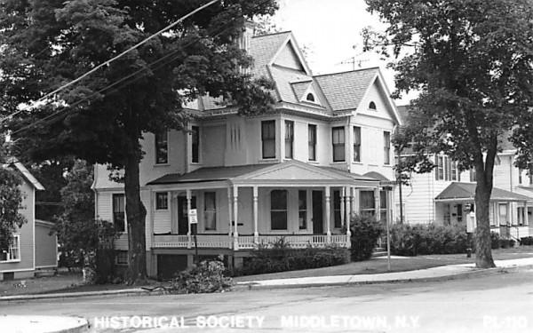 Historical Society Middletown, New York Postcard
