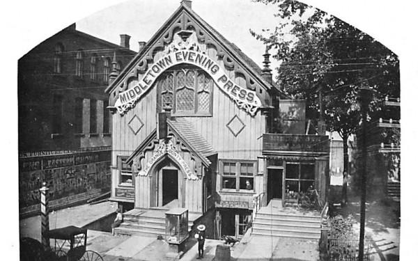 Gothic Hall Middletown, New York Postcard