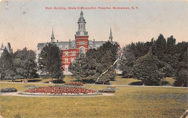 Main Building Middletown, New York Postcard