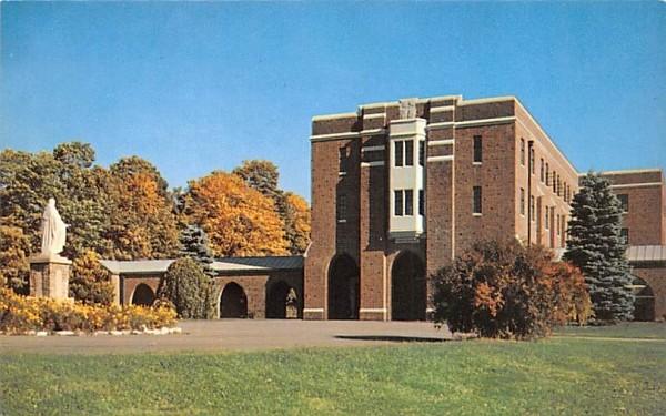St Albert's Catholic Seminary Middletown, New York Postcard