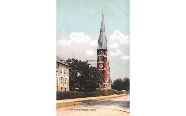 St Joseph's Church Middletown, New York Postcard