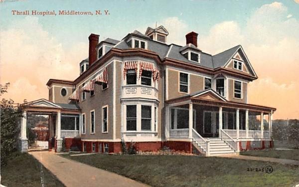 Thall Hospital Middletown, New York Postcard