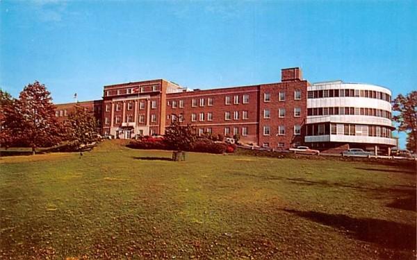 Elizabeth A Horton Memorial Hospital Middletown, New York Postcard